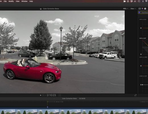 Creating the Pleasantville Look in Final Cut Pro X 8