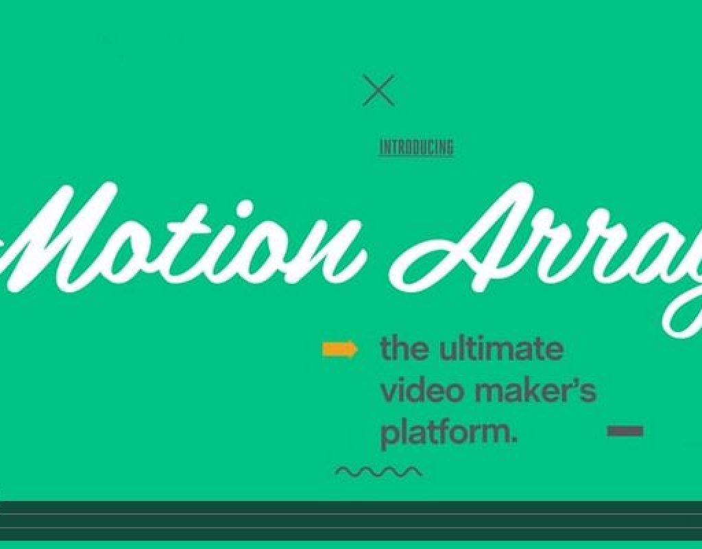 Motion Array Coming In HOT With New Video Review And Portfolio Services 1