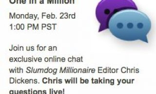 Chat with the editor of Slumdog Millionaire