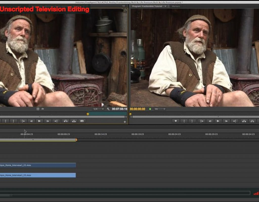 The Reality of Unscripted Television Editing 1