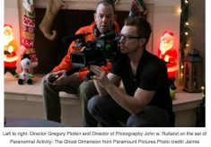 """Sony cameras help create the supernatural look in """"Paranormal Activity: The Ghost Dimension"""""""