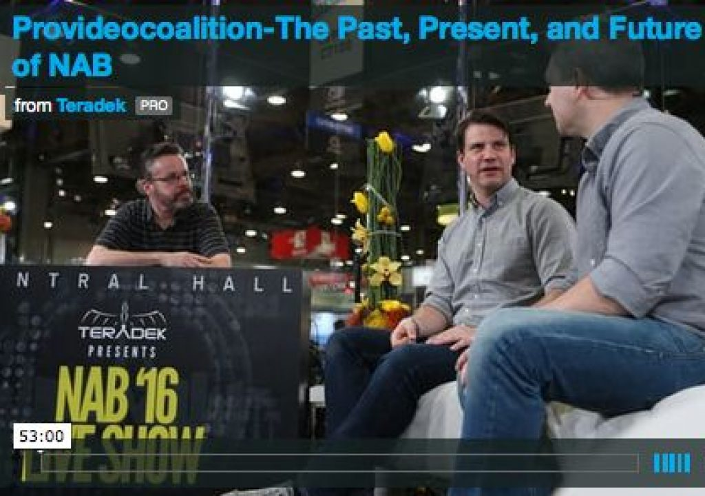 NAB 2016 Discussion - The Role of a DP and Tips and Tricks for the job 2