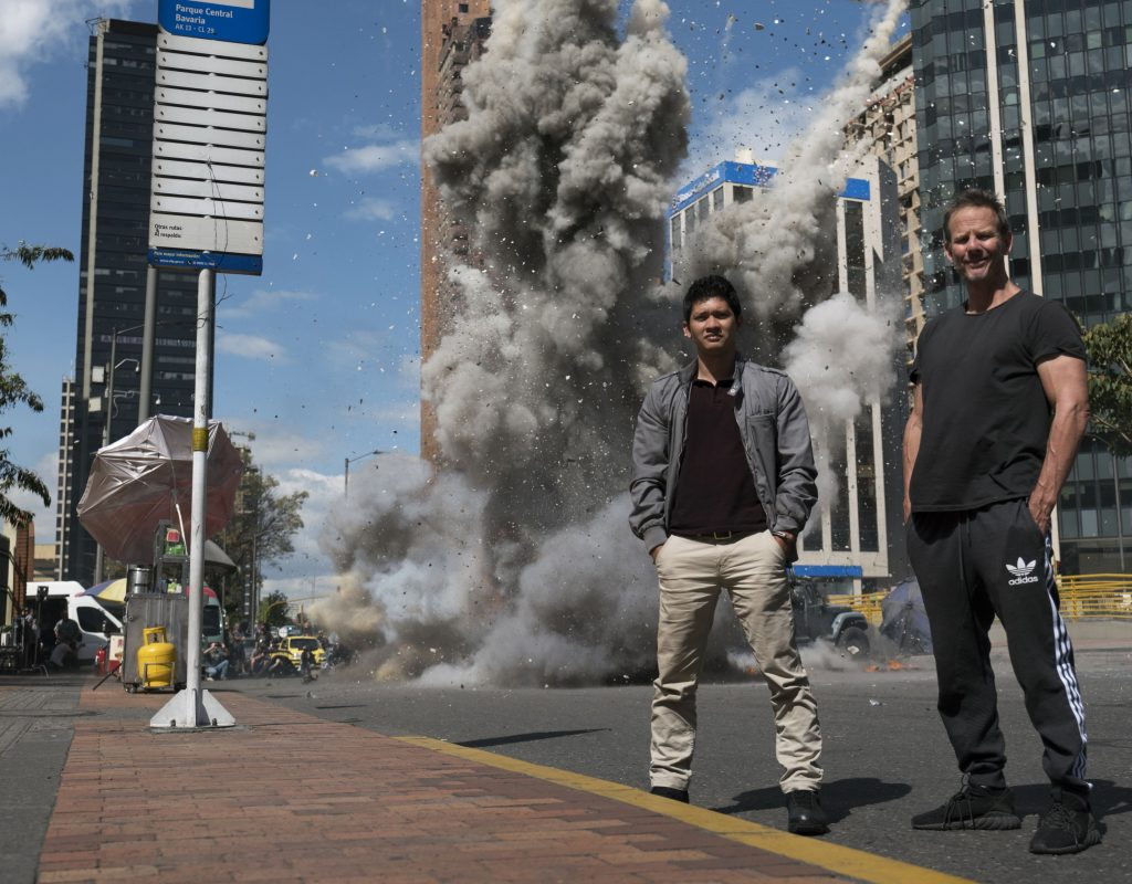 "ART OF THE CUT with Melissa Lawson-Cheung and Colby Parker, Junior, ACE on editing ""Mile 22"" 1"
