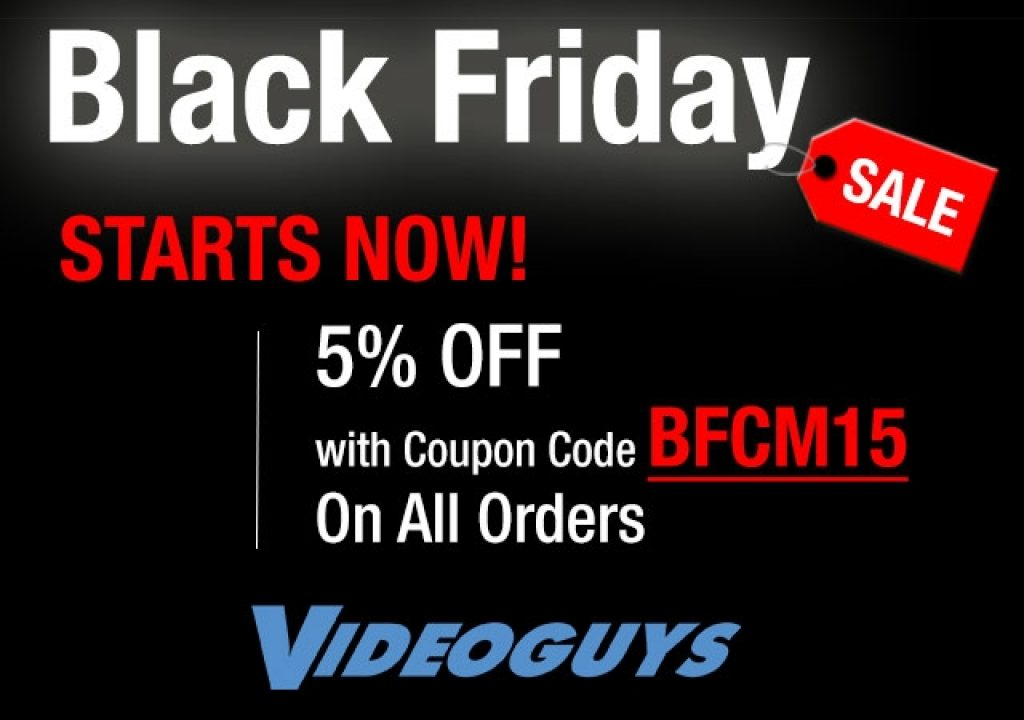 Videoguys Round Up of Black Friday Specials #BlackFriday 1