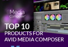 Top 10 Products for Avid Media Composer Users