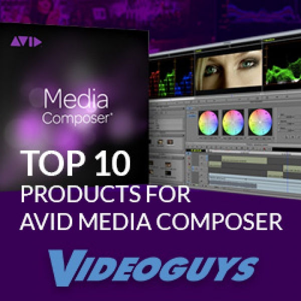 Top 10 Products for Avid Media Composer Users 5