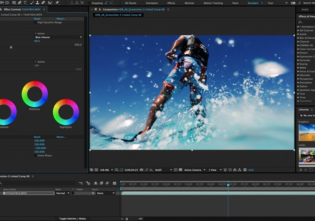The next release of Adobe After Effects CC 1
