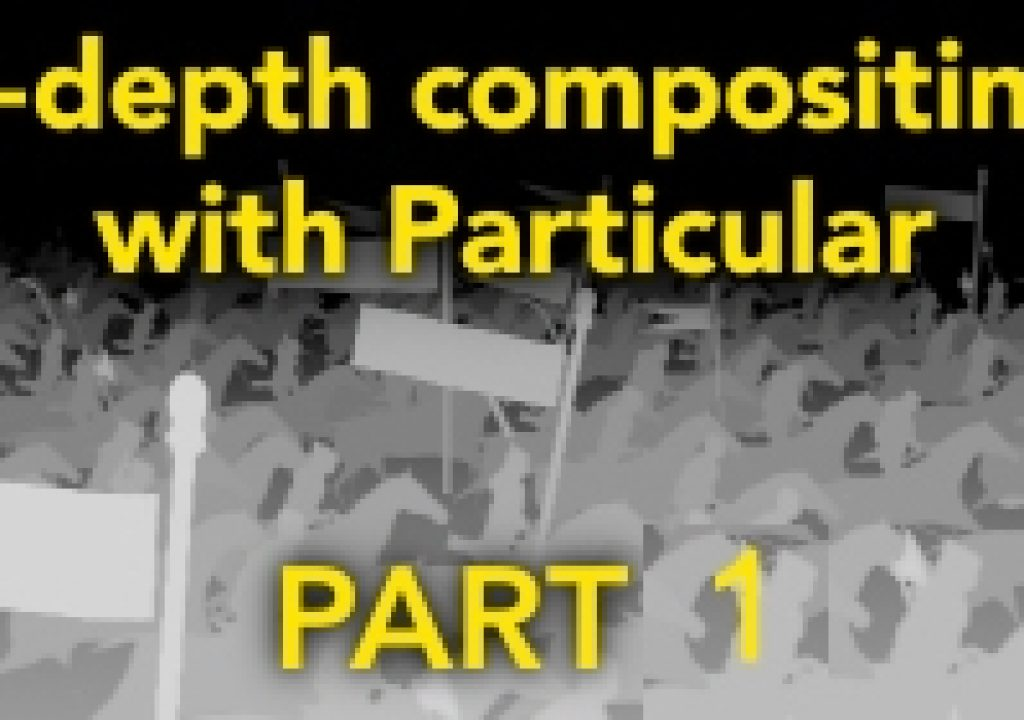 Z-Depth compositing with Particular - Part 1 1