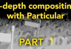 Z-Depth compositing with Particular – Part 1