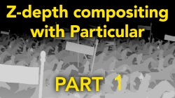 Z-Depth compositing with Particular - Part 1 5
