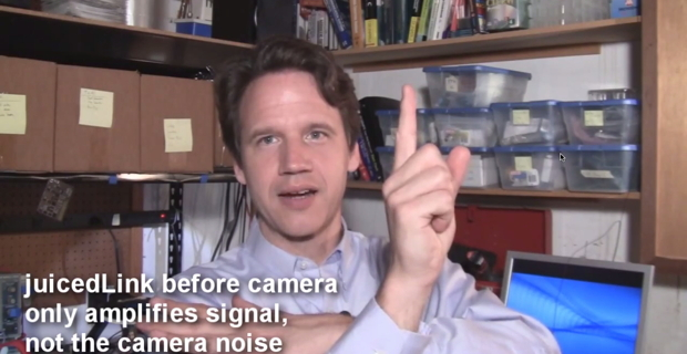JuicedLink video illustrates audio quality with DSLRs via RiggyAssist versus an H4n recorder 1