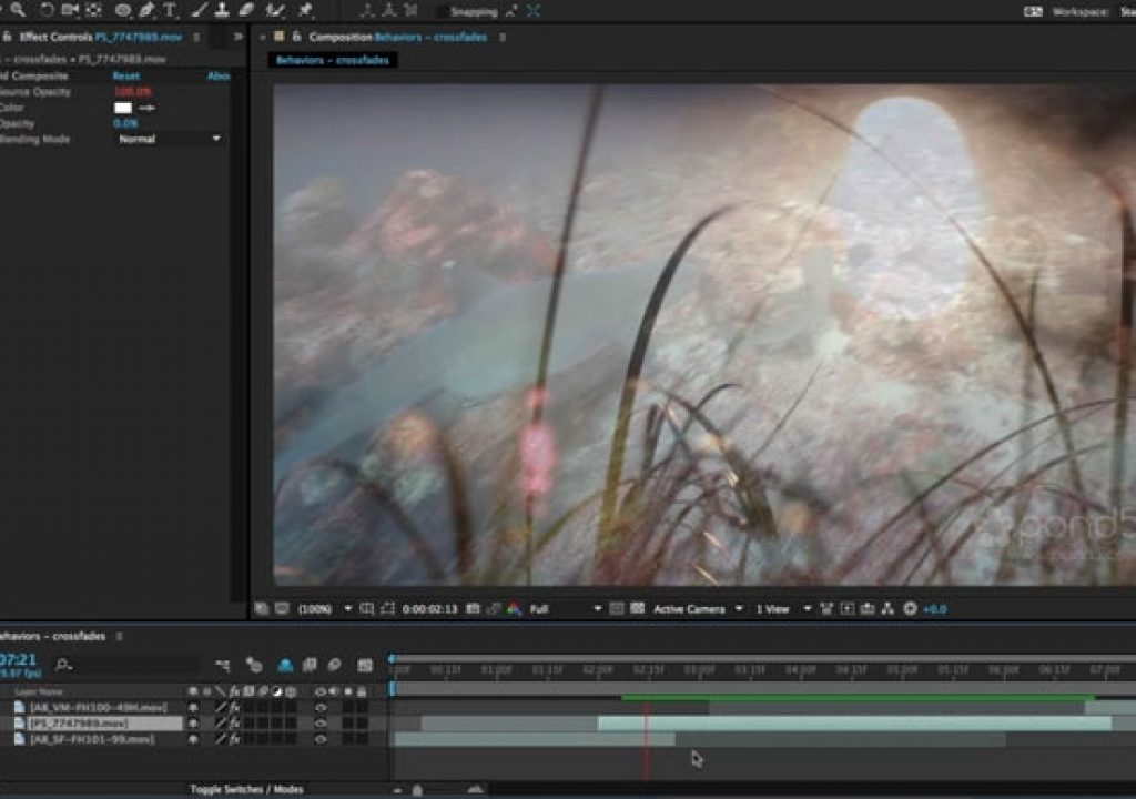 After Effects Hidden Gems Weekly: Automatic Fades 1