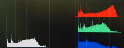 New Features on FSI Monitors Addition of Histogram and Color Histogram Scopes 1