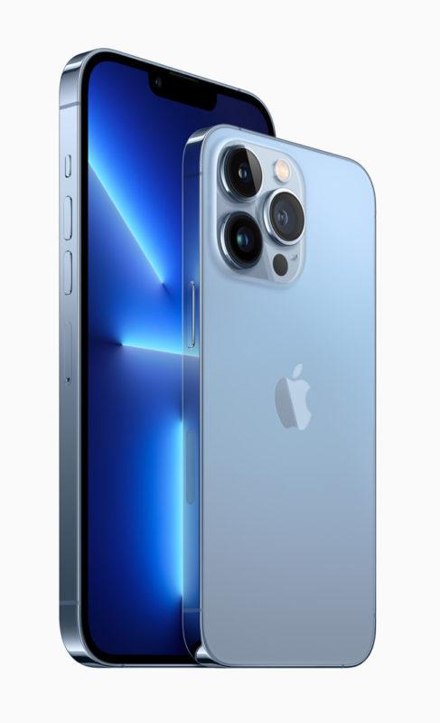 iPhone 13 Pro: ProRes, 1TB capacity, rack focus (auto or manual) 1