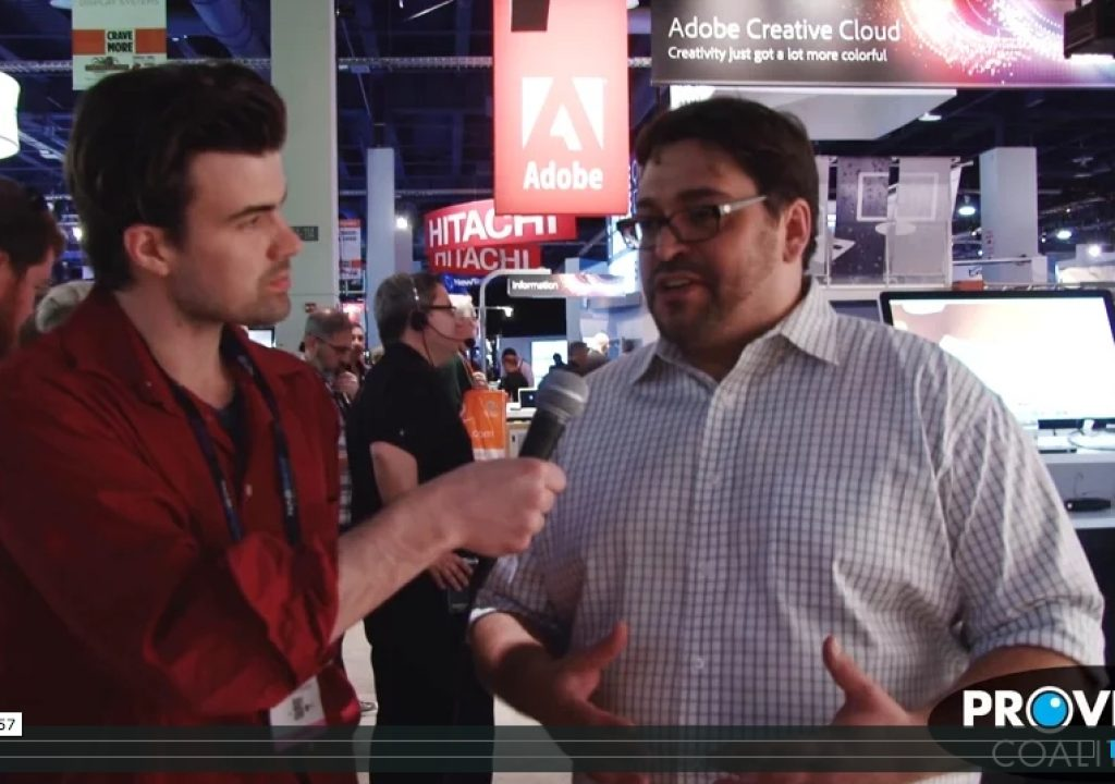 PVC at NAB 2015 - Interview with Robbie Carman 1