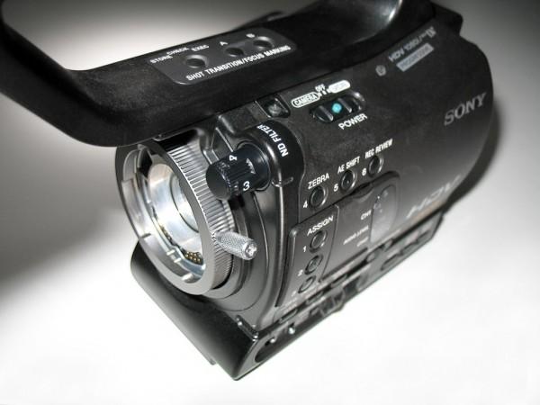 Sony HVR-Z7U: Zoom lens, prime lens, or both? 1