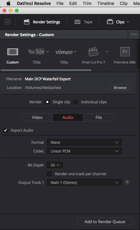 CREATING YOUR OWN DCP'S – DAVINCI RESOLVE 14 SETUP 39