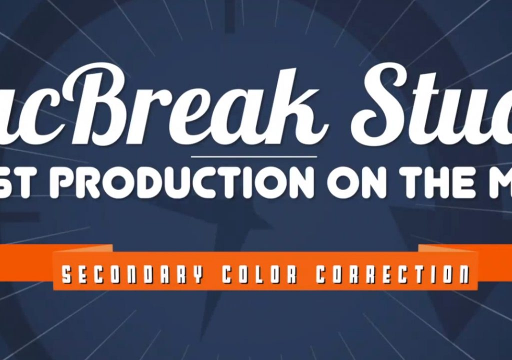 Secondary Color Correction in Final Cut Pro 10.2 3