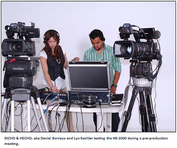 On-Location Sports Coverage with DICHO & HECHO Productions 1
