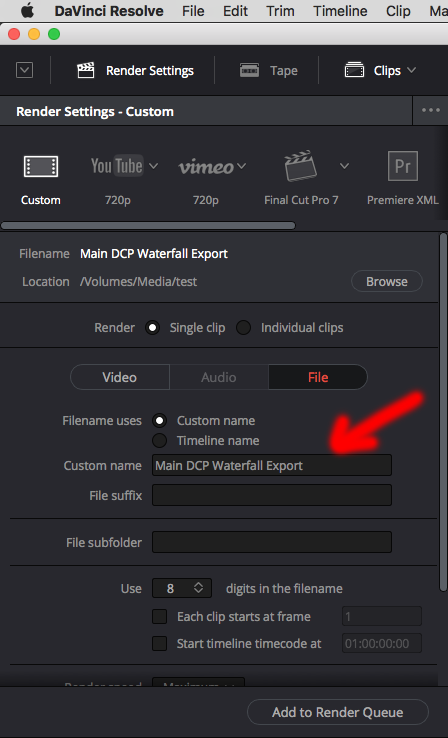 CREATING YOUR OWN DCP'S – DAVINCI RESOLVE 14 SETUP 38