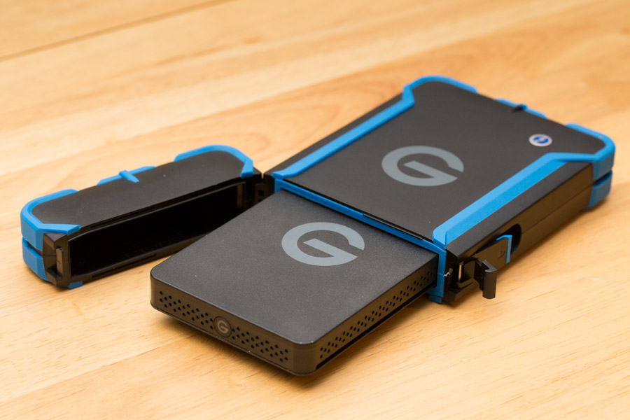 This image from Dan Carr's review shows the USB 3 drive that lives inside of the ev ATC case.