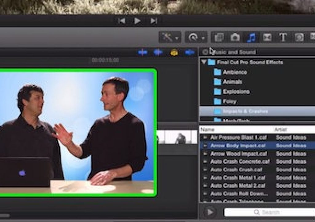 Managing Sound Effects in Final Cut Pro X 1