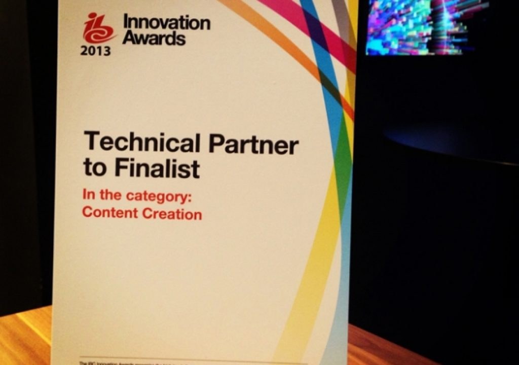 """ITV finalist in IBC2013 Innovation Award for """"ITV and Adobe Story"""" 5"""