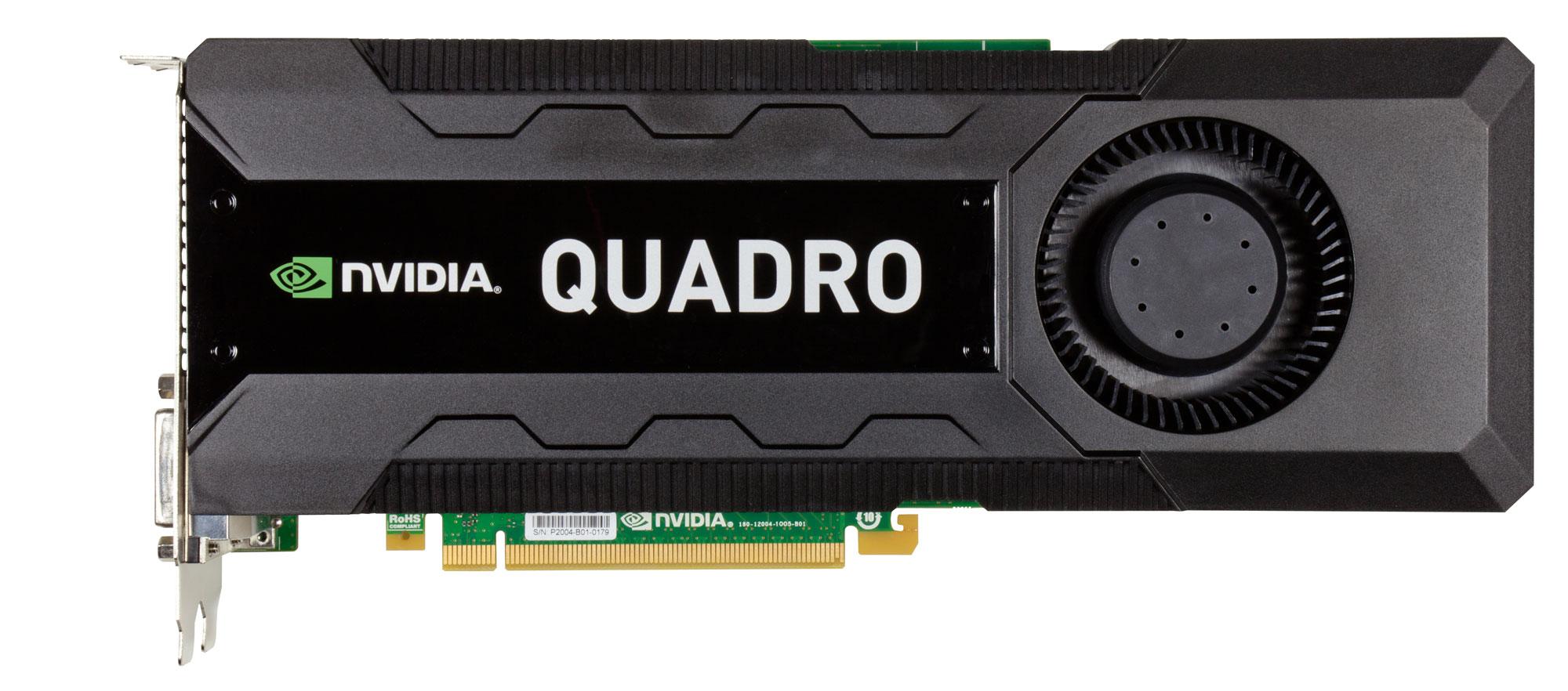 The NVIDIA Quadro K5000 15
