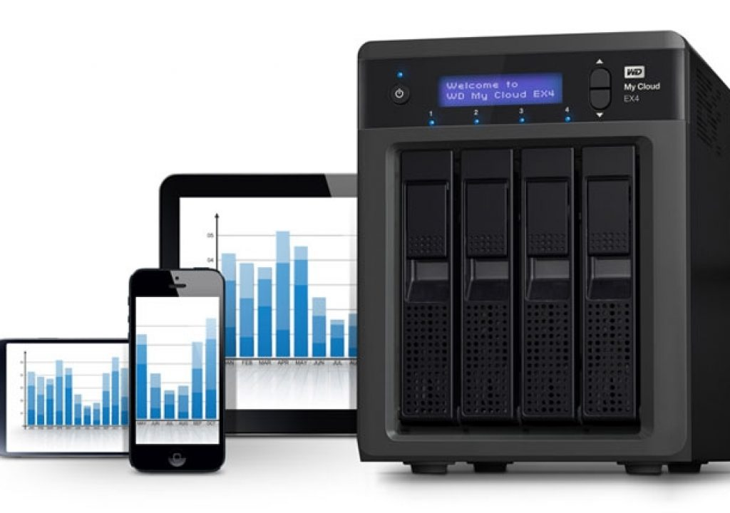 Review: MyCloud EX4, a NAS for Dummies 1