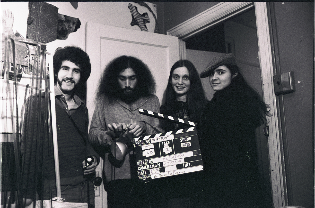 1976 Milly and film crew