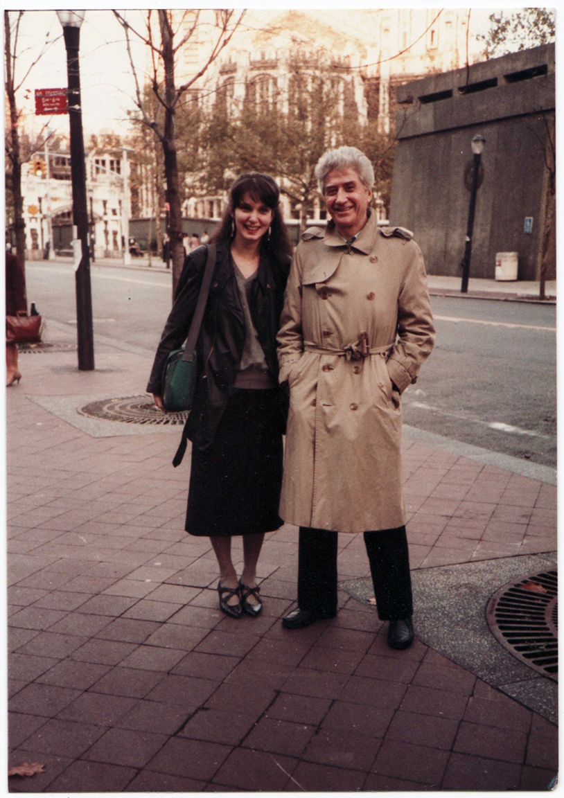 1984 Milly with Alain Resnais