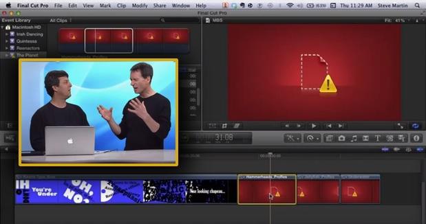 Relinking Media in Final Cut Pro X 1