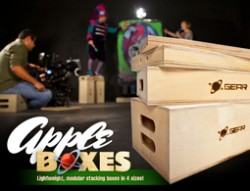 Give Your Production A Lift With Stackable Apple Boxes 1