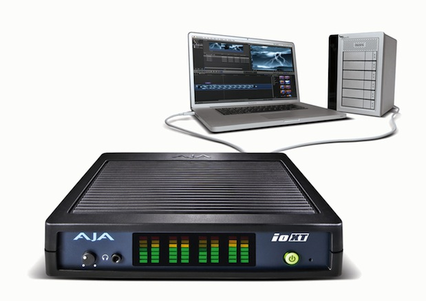 AJA announces Io XT interface with Thunderbolt at IBC in Amsterdam 1