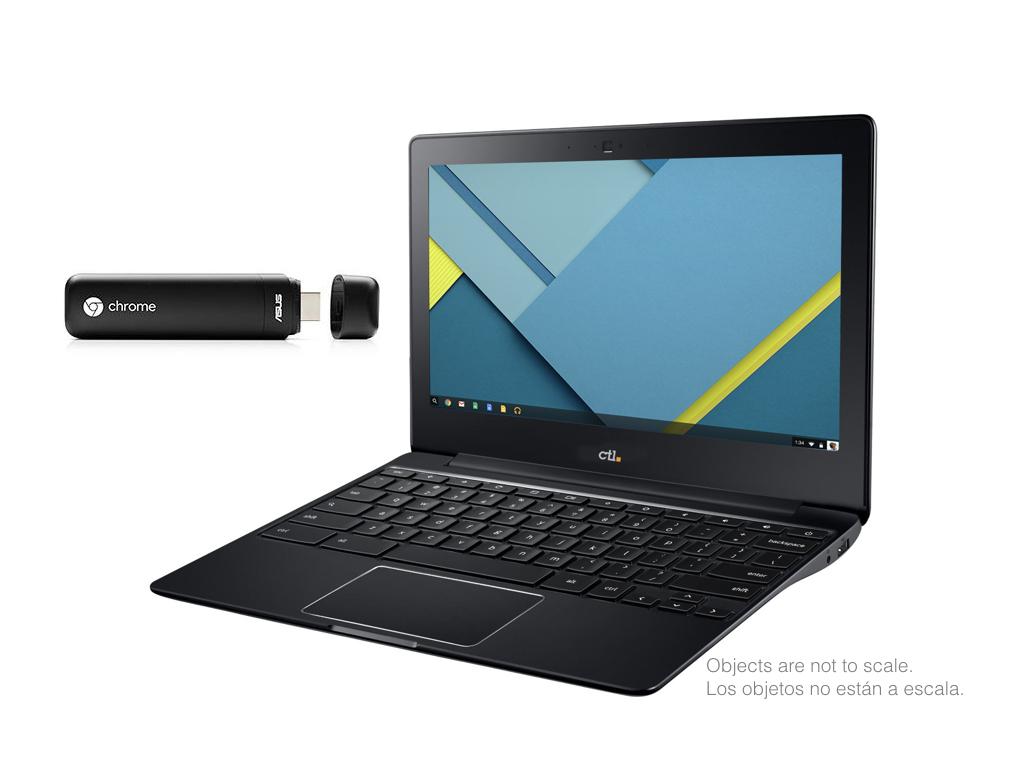 2 Chromebooks reviewed: CTL J4 Plus laptop & Chromebit stick