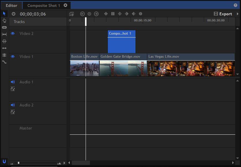HitFilmPro - Text - Composite Shot