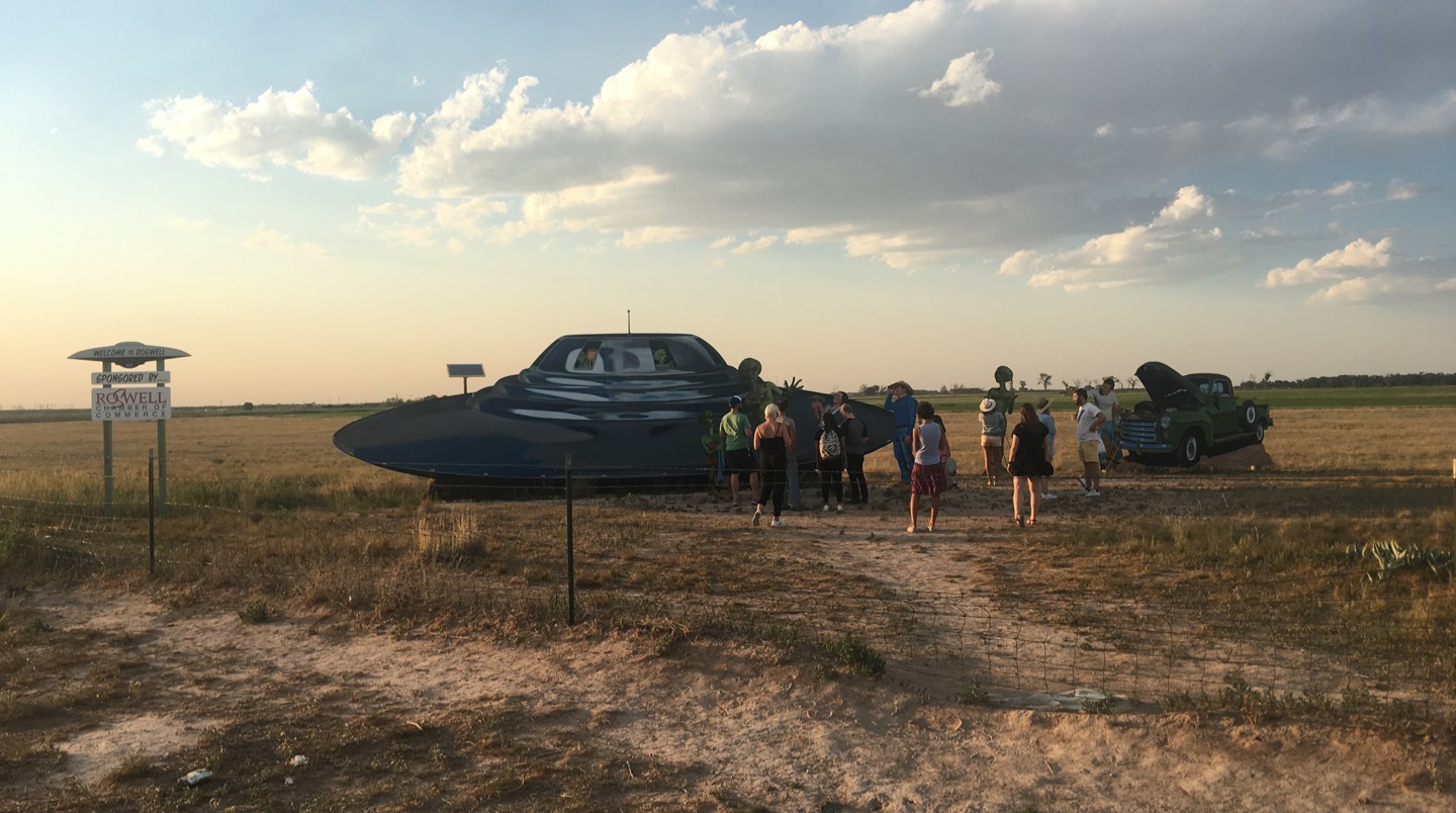Scouting Roswell