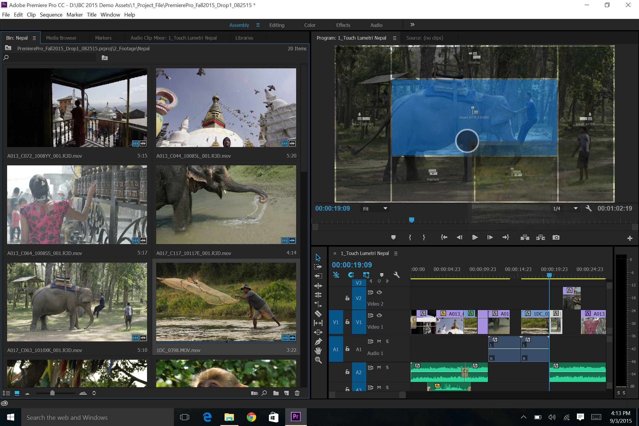 2.Premiere Touch Edit