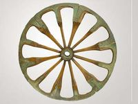 The wheel was invented in circa 4000 BCE.