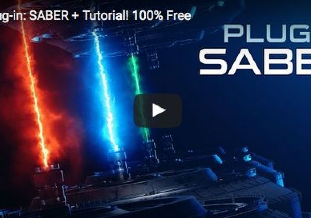 Saber: a new FREE After Effects plug-in from Video Copilot 1