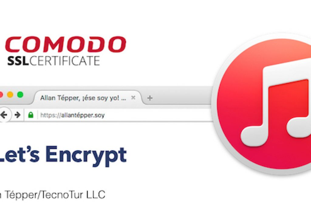 iTunes, SSL & HTTPS for SEO, and Let's Encrypt 3
