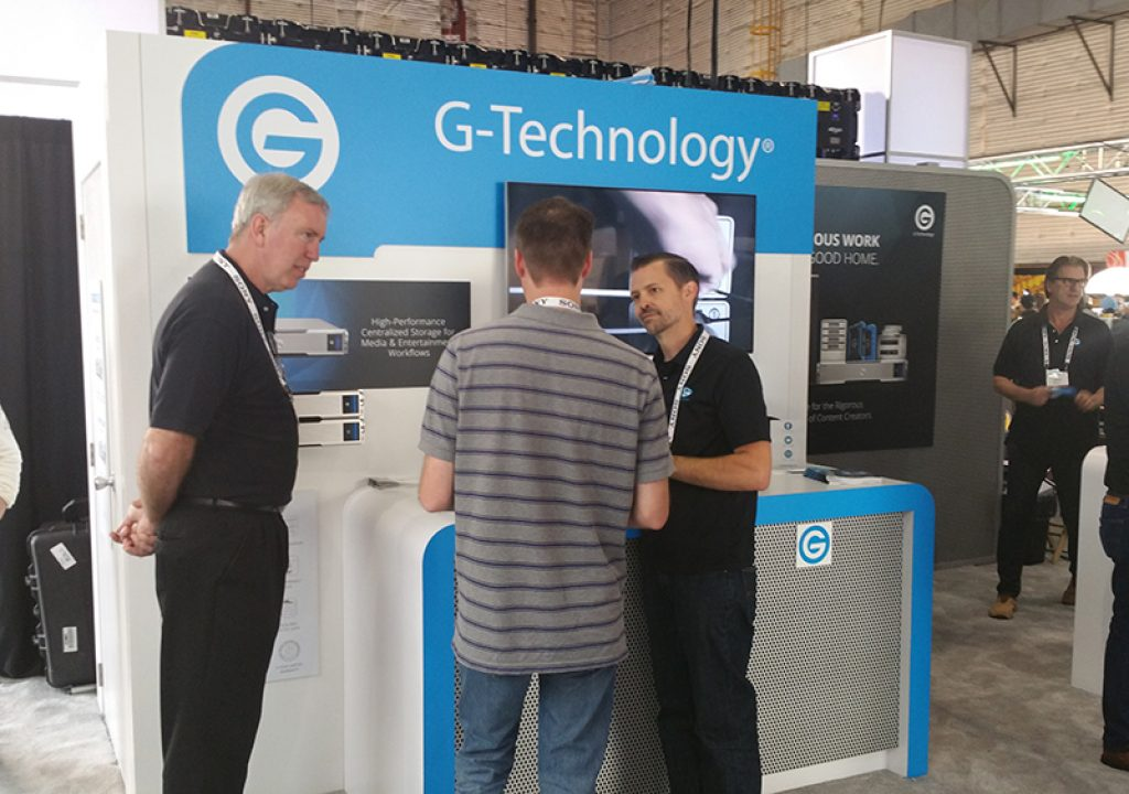 Cine Gear Expo 2016: A Closer Look at the G-RACK 12 from G-Tech 1