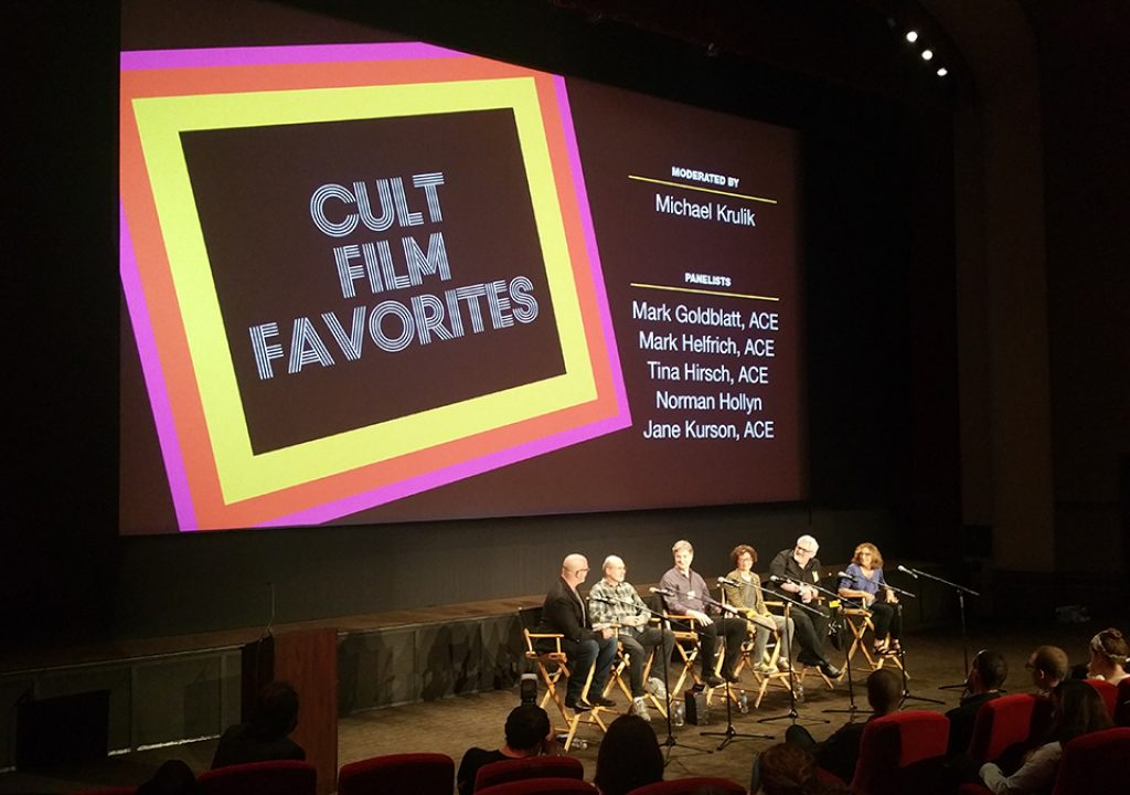 EditFest 2016: Cult Film Favorites with the American Cinema Editors 1