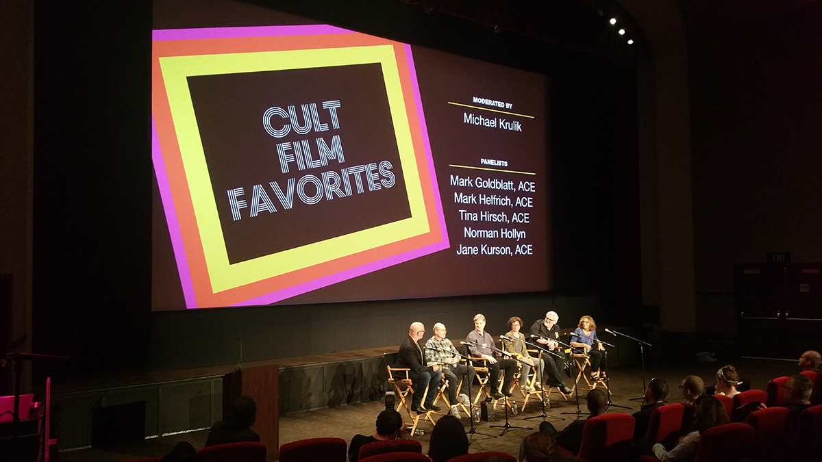 EditFest 2016: Cult Film Favorites with the American Cinema Editors 10