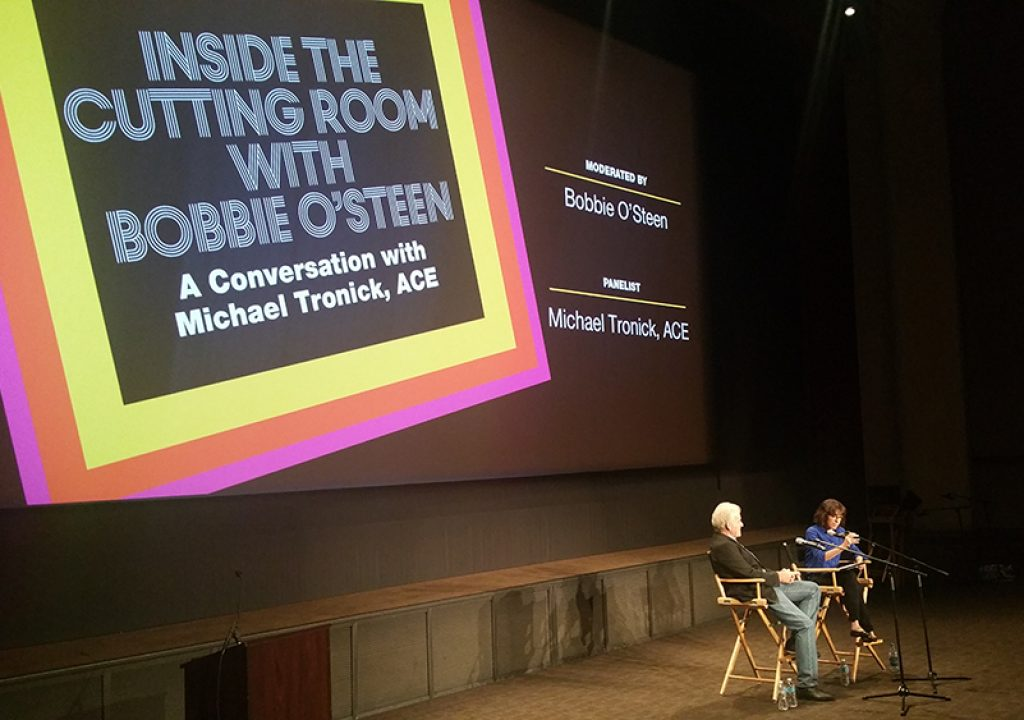 EditFest 2016: Inside the Cutting Room with Michael Tronick and the American Cinema Editors 1