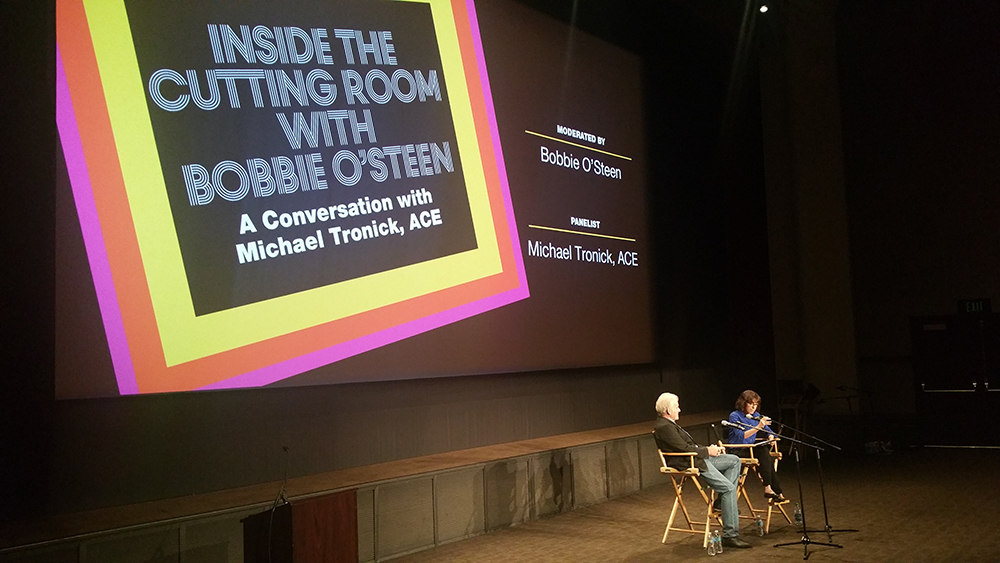 EditFest 2016: Inside the Cutting Room with Michael Tronick and the American Cinema Editors 9