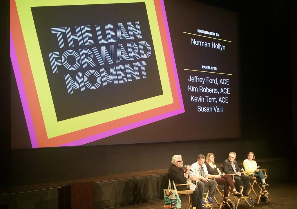 EditFest 2016: The Lean Forward Moment with the American Cinema Editors 1