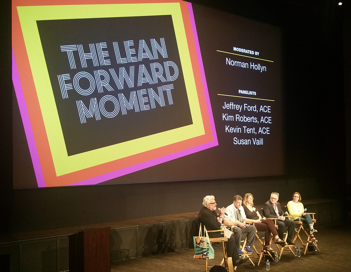 EditFest 2016: The Lean Forward Moment with the American Cinema Editors 8
