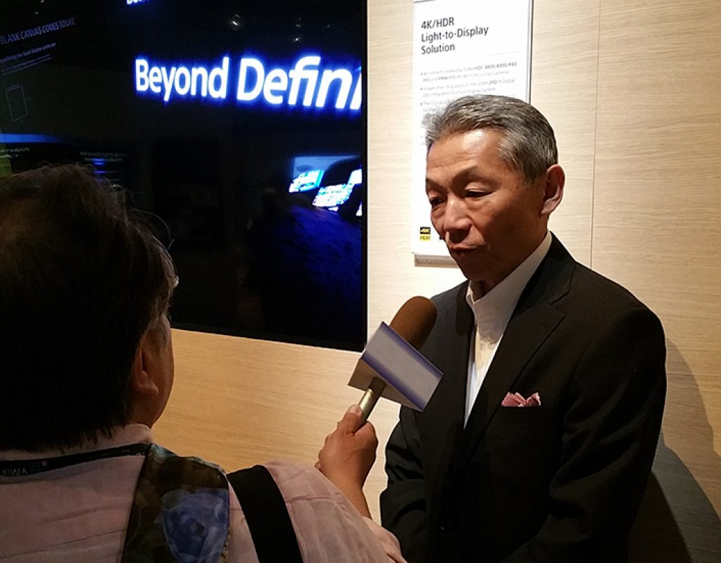 In-depth at NAB: Katsunori Yamanouchi Spearheads the Transformation of Sony into a Solution and Business Provider 10