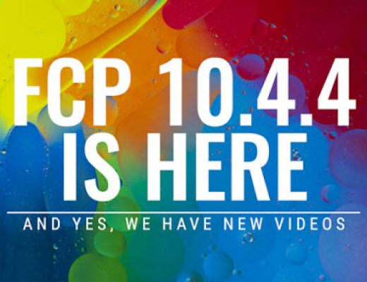 Apple Updates Final Cut Pro X 7